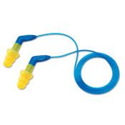 3M E-A-R Ultrafit Plus Earplugs 340-8002, PVC, Yellow, Corded, Pistol-Grip, 100/BX, #7000127188