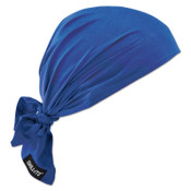 Ergodyne Chill-Its 6710CT Evaporative Cooling Triangle Hats w/ Cooling Towel, Solid Blue, 6/CA, #12587