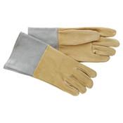 Best Welds 40-TIG Deer Split Leather Welding Gloves, Medium, Pearl Gray, 12/BX, #40TIGM