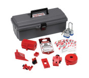 Brady Lockout Tool Box with Components, 1/KT, #65289