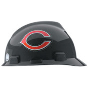 MSA Officially-Licensed NFL V-Gard Helmets, 1-Touch, Chicago Bears Logo, 1/EA, #818389
