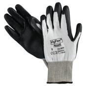 Ansell HyFlex 11-624 Dyneema/Lycra Work Gloves, Size 9, White/Black, 12 Pair, #104780