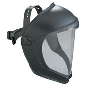 Honeywell Bionic Face Shields, Hardcoat/Antifog, Clear/Black Matte, 1/EA, #S8510