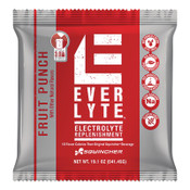 Sqwincher EverLyte™ 2.5 Gal Powder Mix, 23.83 oz, Pack, Yields 2.5 gal, Fruit Punch, 32/CA, #016872FP