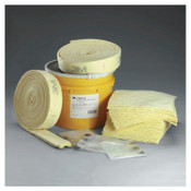 3M Chemical Folded Spill Kits, 20 Gallon Drum, 31 Gal Absorption, 1/EA, #7000002004