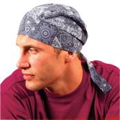 OccuNomix Tuff Nougies Deluxe Tie Hats, One Size, Cowboy Blue, 1/EA, #TN6CBL