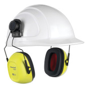 Honeywell VeriShield 100 Series Passive Earmuffs, VS130HHV, 27 NRR, Hi-Viz Yellow, 1/EA, #1035127VS