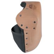 Alta Leather Knee Pads, Neoprene strap; Buckle, Saddle, 1/PR, #30914
