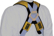 Capital Safety Delta Comfort Pads for Harnesses, 22 in, Gray/Yellow, 1/EA, #9501207