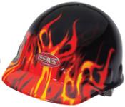 Honeywell FMX Hard Caps, 8 Point Ratchet, Flame Graphics, 1/EA, #E2RWX1