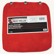 Best Welds Leather Helmet Bib, 8 in, 1/EA, #85