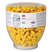 3M E-A-R Classic Refill Bottles, Foam, Yellow, Uncorded, 500/BO, #7000002298