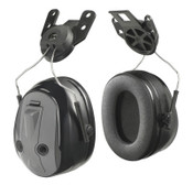 3M Peltor PTL Earmuffs, 25 dB, Gray, Cap-Attached Earmuff, 1/EA, #7000002317