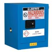 Justrite Sure-Grip EX Countertop Hazardous Material Steel Safety Cabinet, 4 Gallon, 1/EA, #860428