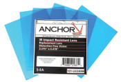 Anchor Products Cover Lens, 100% Polycarbonate, Miller, Outside Cover Lens, 12 7/8 in x 1 1/2 in, 1/PK, #UV240M