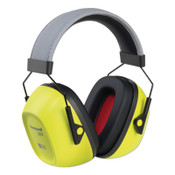 Honeywell VeriShield 130 Series Passive Earmuffs, VS130HV, 30 NRR, Hi-Viz Yellow, 1/EA, #1035110VS