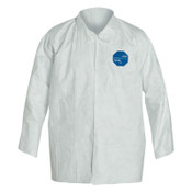 DuPont™ Tyvek Shirt Snap Front, Long Sleeve, 2XL, 50/CA, #TY303SWH2X005000