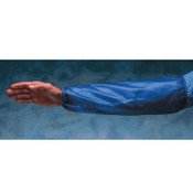 Ansell Arm Protection Sleeves, Elastic on Both Ends, One Size Fits Most, Blue/Clear, 12/DZ, #105316