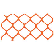 Cortina Mid-Grade Safety Fence, 4 ft x 50 ft, Polyethylene, Orange, 1/EA, #03906MGO