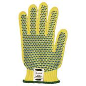 Ansell GoldKnit Mediumweight Gloves, Size 9, Yellow, 12 Pair, #103784
