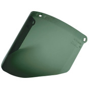 3M Dark Green Polycarbonate Faceshield WP96, Molded, 1/EA, #7000002340