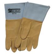 Best Welds Pigskin 50-TIG Welding Gloves, Large, Tan, 1/PR, #50TIGL