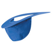 OccuNomix Hard Hat Shades, Blue, Most Regular Hard Hats, 1/EA, #898028