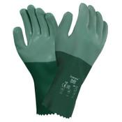 Ansell Scorpio Neoprene-Coated Gloves, Rough, Size 8, 12 Pair, #103624