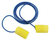 3M E-A-R Classic Foam Earplugs 311-1110, Polyurethane, Yellow, Corded, 75/BX, #7000127278