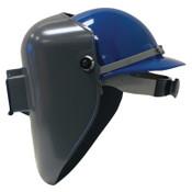 Honeywell Protective Cap Welding Helmet Shells, #10, Gray, 2 in x 4 1/4 in, 1/EA, #5906GY