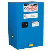 Justrite Sure-Grip EX Compac Hazardous Material Steel Safety Cabinet, 12 Gallon, 1/EA, #861228