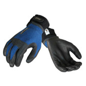 Ansell ActivARMR HVAC Gloves, X-Large, Black/Blue, 12 Pair, #106428