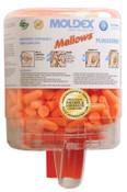 Moldex Mellows Foam Ear Plugs, Foam, Bright Orange, Uncorded, Six Dispenser Case, 1/DI, #6846