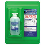 First Aid Only Wall Mountable Eyewash Stations, Single 16 oz. Bottle, 6 per case, 6/CA, #90499001