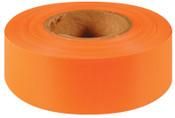Intertape Polymer Group Flagging Ribbon, Orange Glo, 144/CA, #6880