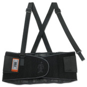 Ergodyne ProFlex 100 Economy Back Supports, Large, Black, 1/EA, #11384