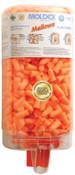 Moldex Mellows Foam Ear Plugs, Foam, Bright Orange, Uncorded, Four Dispenser Case, 1/DI, #6847