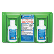 First Aid Only Eye & Skin Flush Emergency Station/Replacement Twin Bottles, 16 oz, 1/EA, #24102
