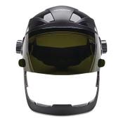 Jackson Safety QUAD 500 FCSH, CH GRD, CL PC AF W/SH5 FLIP HHIS, 1/EA, #14235