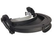 Honeywell Turboshield Hard Hat Adapters, Black, Polycarbonate, 1/EA, #S9510