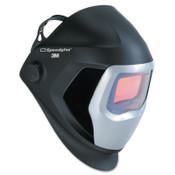 3M Speedglas 9100 Series Helmets, 8 - 13, Black/Silver, 4.2 in x 2.1 in, 1/EA, #7100010429