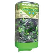 Moldex Plugstation Dispenser with Corded Pura-Fit Earplugs, Foam, Green, Corded, 1/EA, #6882