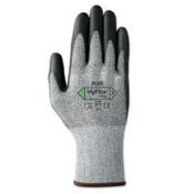 Ansell HyFlex 11-435 Cut-Resistant Gloves, Size 9, Black; Heather Gray, 12/DZ, #111051