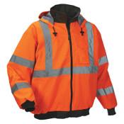 OccuNomix Bomber Jackets, Large, Orange, 1/EA, #LUXTJBJOL