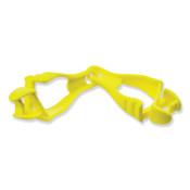 Ergodyne Squids 3400 Grabber-Dual Clip, Hi-Viz Lime Green, 1/EA, #19119