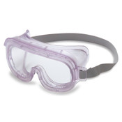 Honeywell Classic Goggles, Clear Frame, Clear Lens, Uvextreme Antifog, Hood Indirect Vent, 1/EA, #S350