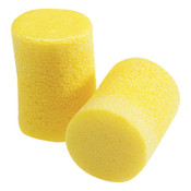 3M E-A-R Classic Foam Earplugs VP312-1201, Polyurethane, Yellow, Uncorded, 500/CA, #7000128138