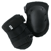 Alta Superflex Knee Caps, Buckle, Black, 1/PR, #50413