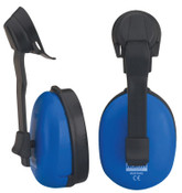 Honeywell Mustang Earmuffs, 20 dB NRR, Blue, Cap Attached, 1/EA, #EM4157HL