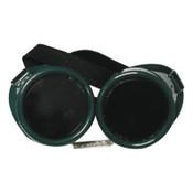 Best Welds Cup Goggles, Hard Plastic, Green, 1/EA, #WG50C